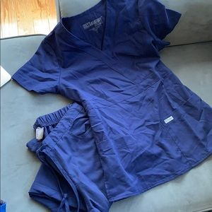 Greg's Anatomy scrub set